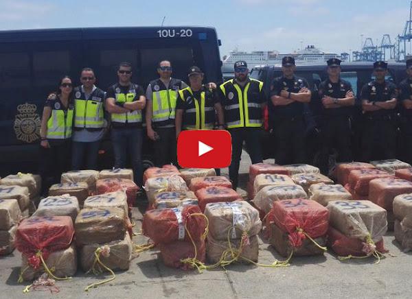 Diosdado y Tareck preocupados por barco con 2000 kilos de droga capturado en Canarias