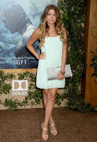 Sofia Reyes red carpet dresses The Legend of Tarzan Premiere in Hollywood