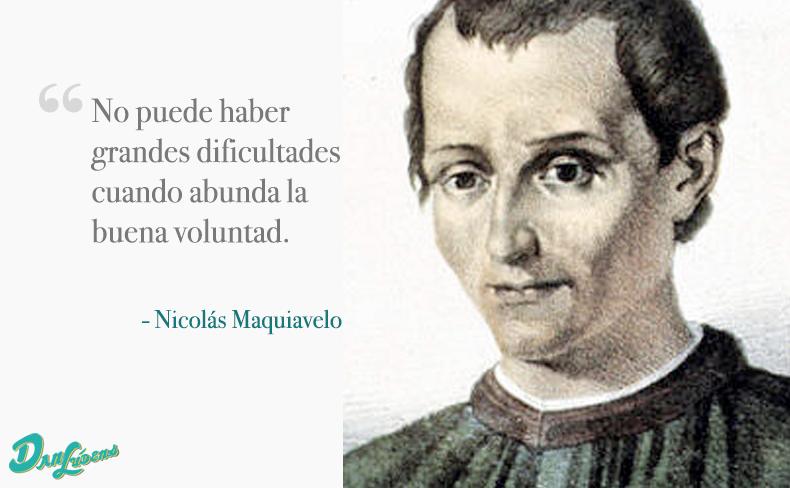 Frases Célebres De Maquiavelo Y Descarga Del Principe Pdf