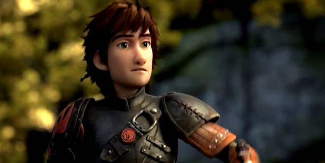 Hiccup (Jay Baruchel) în trailerul pentru animaţia How To Train Your Dragon 2