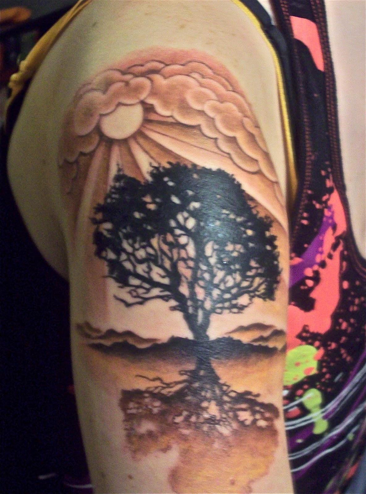 TATTOOS DESIGNS 2012: Sun Tattoos