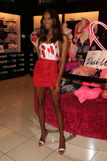 Jasmine Tookes at Victoria's Secret celebrates self-love this Valentine's Day in LA