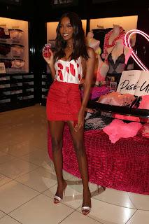 Jasmine Tookes at Victoria's Secret celebrates self-love this Valentine's Day in LA