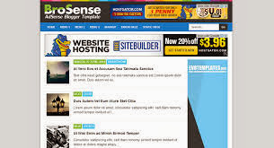 Template Adsense Seo Friendly Terbaik