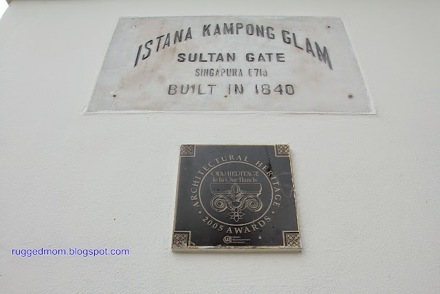 A very short trip to Singapore | Istana Kampong Gelam