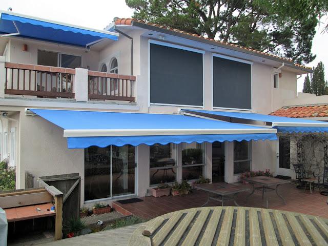 gambar awning gulung rumah