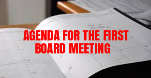 AGENDA-FOR-FIRST-BOARD-MEETING