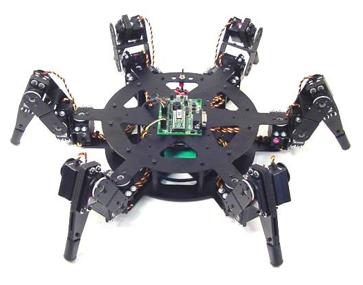Electronic Project : Arduino Powered Hexapod Robot