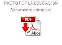Pacto por la Educación - Documento