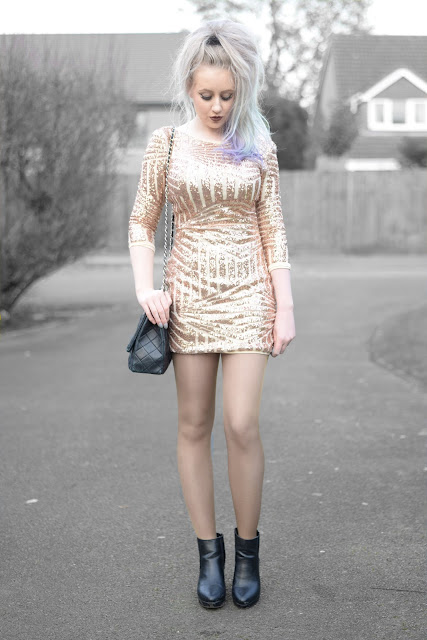 Sammi Jackson - Sammydress Gold Sequin Dress