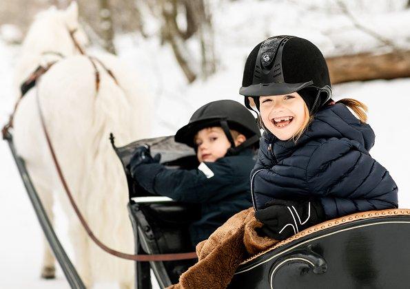 Crown Princess Victoria, Prince Daniel, Princess Estelle, Prince Oscar
