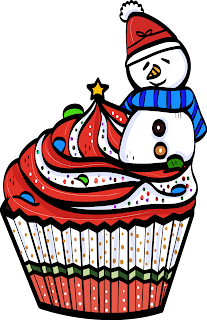 grandsons decorating cupcakes