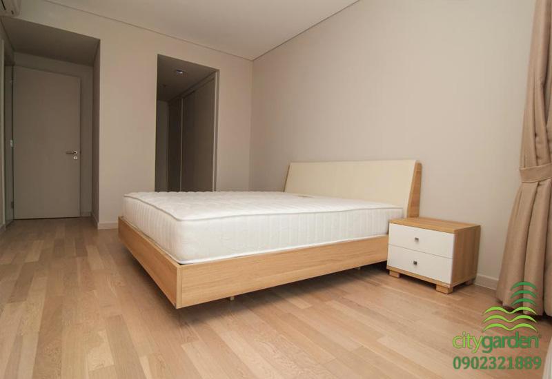 phòng ngủ chính tại city garden