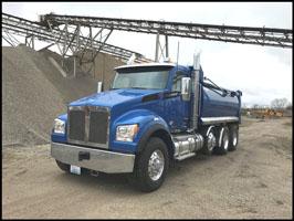 Kenworth T880S Dump Truck