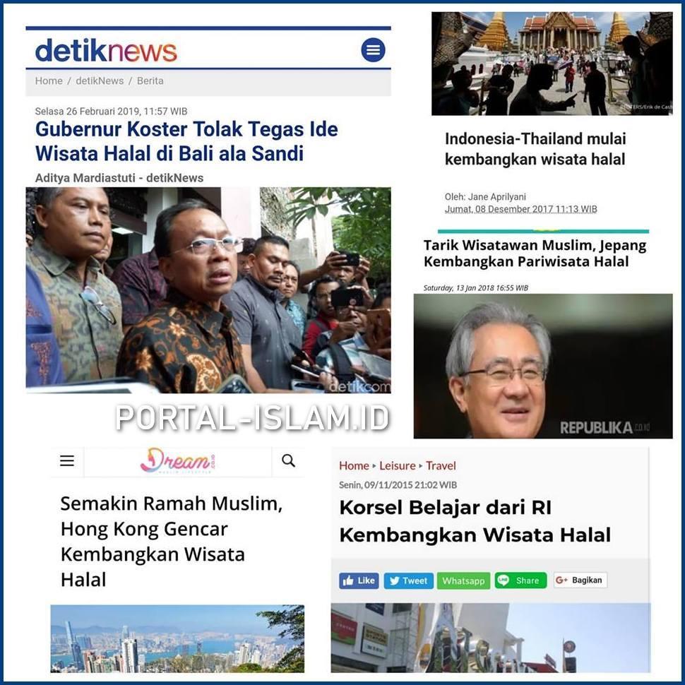 Yang Menolak Ide Wisata Halal Di Bali Ala Bang Sandi