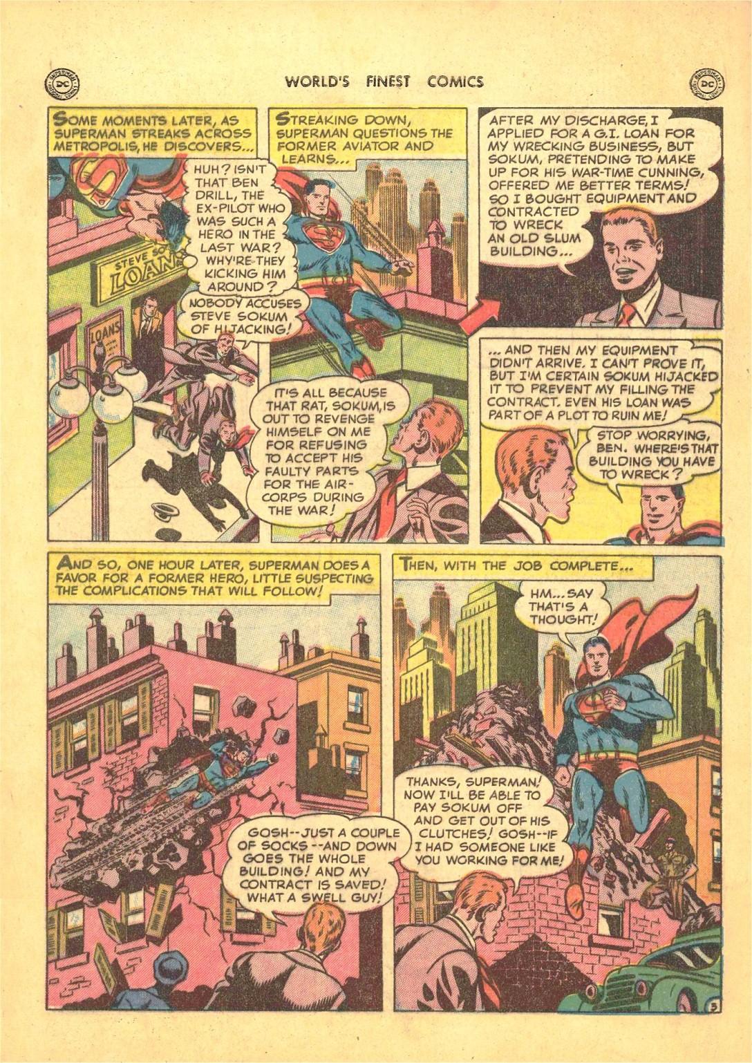 Read online World's Finest Comics comic -  Issue #50 - 5