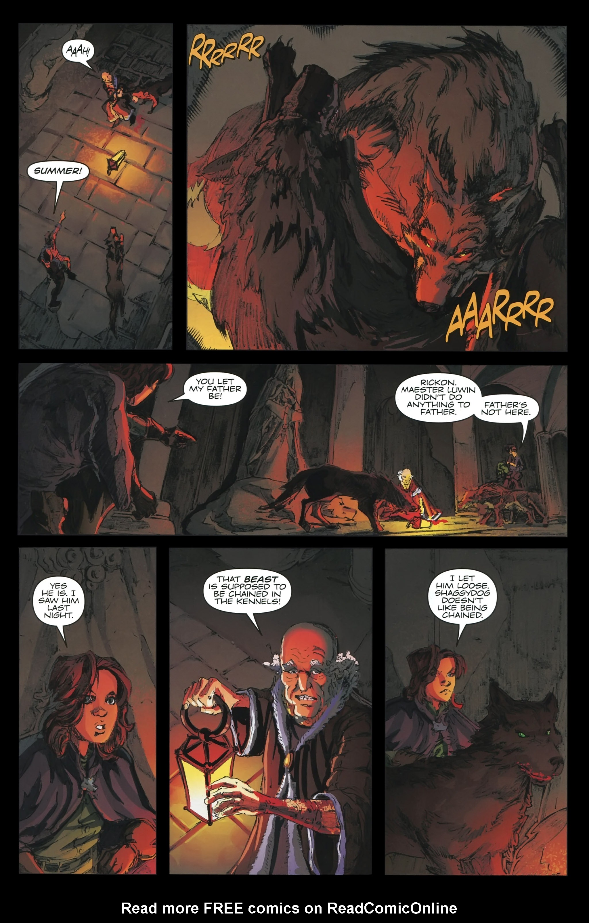 Read online A Game Of Thrones comic -  Issue #23 - 7