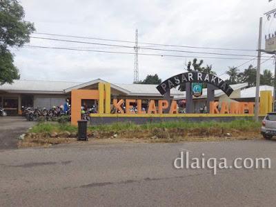 Pasar Rakyat Kelapa Kampit, Belitung Timur