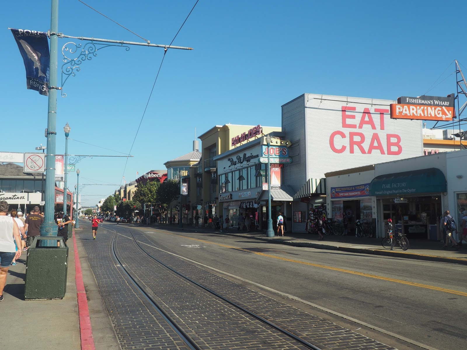 San Francisco tram lines