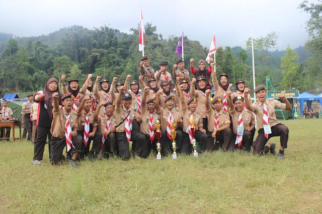 Pramuka Parikesit dan Chandrasakti bawa 3 Piala dalam RAICAB (Raimuna Cabang)