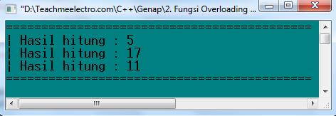 Latihan 1 C ++