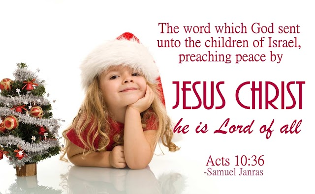 Peace Christmas Baby Bible Wishes