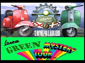 "PROYECTO 2011 ""VESPA GREEN MISTERY TOUR"""