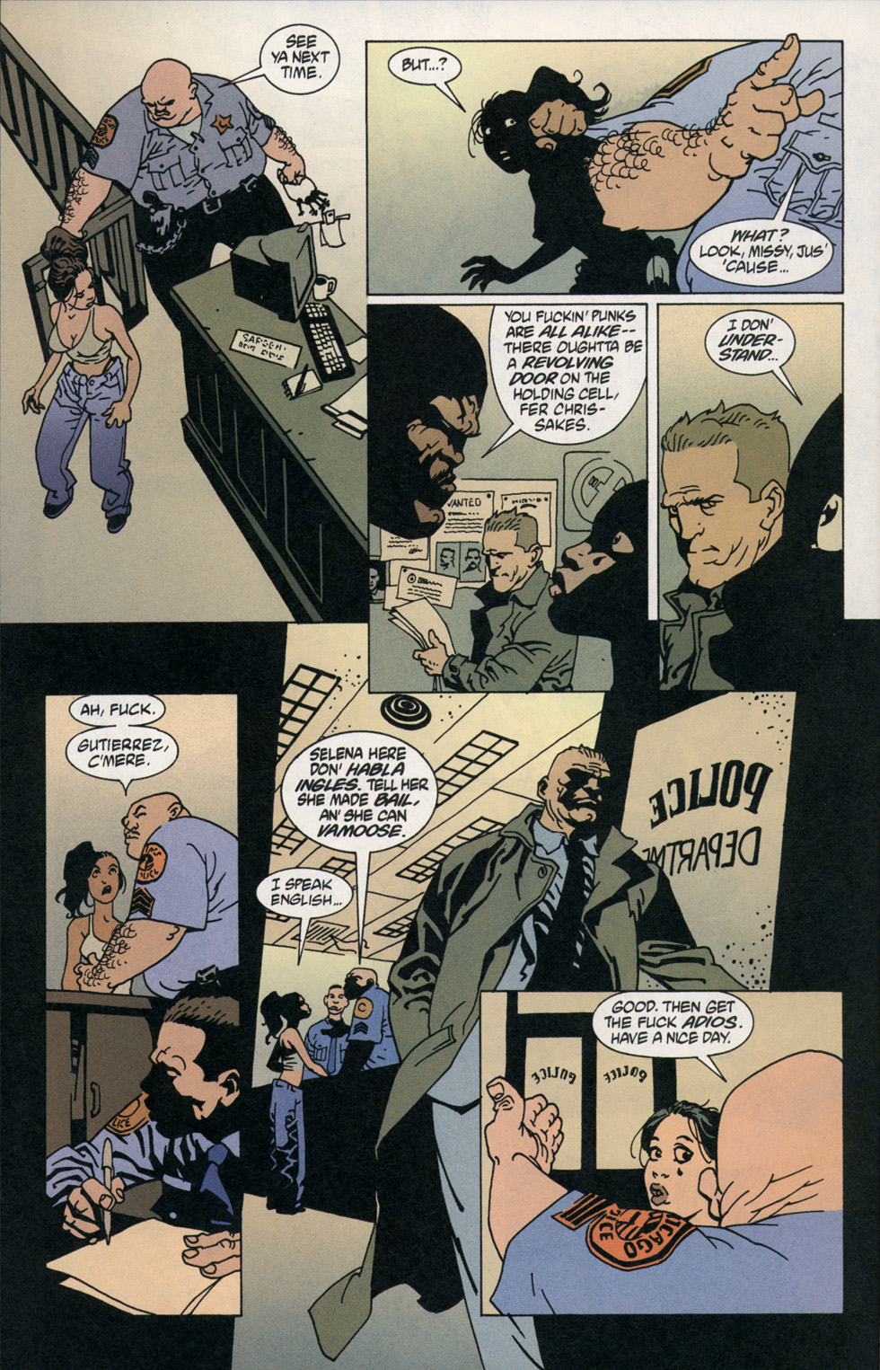 Read online 100 Bullets comic -  Issue #2 - 19