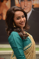 Tejaswi Madivada looks super cute in Saree at V care fund raising event COLORS ~  Exclusive 064.JPG