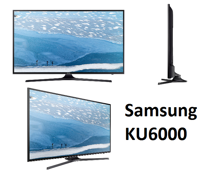 samsung ku6000 le moins cher 4k hdr 2016 televiseur led. Black Bedroom Furniture Sets. Home Design Ideas