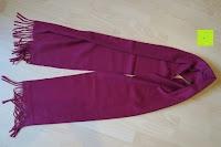 geknickt: Novawo® Luxus Kaschmir und Wolle Vermischung Schal Herren Damen (8 Farben)