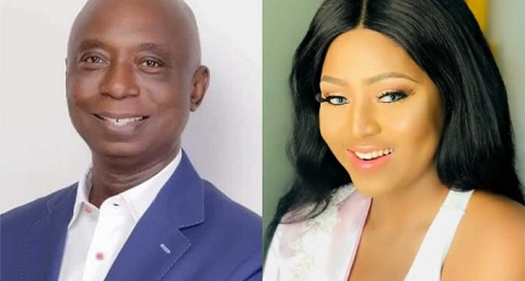 Another Report Claims Regina Daniels Has Been Flying In Ned Nwoko's Private! See Alleged Photos
