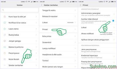 "Cara Mengaktifkan ""Sumber tidak dikenal"" di Xiaomi"