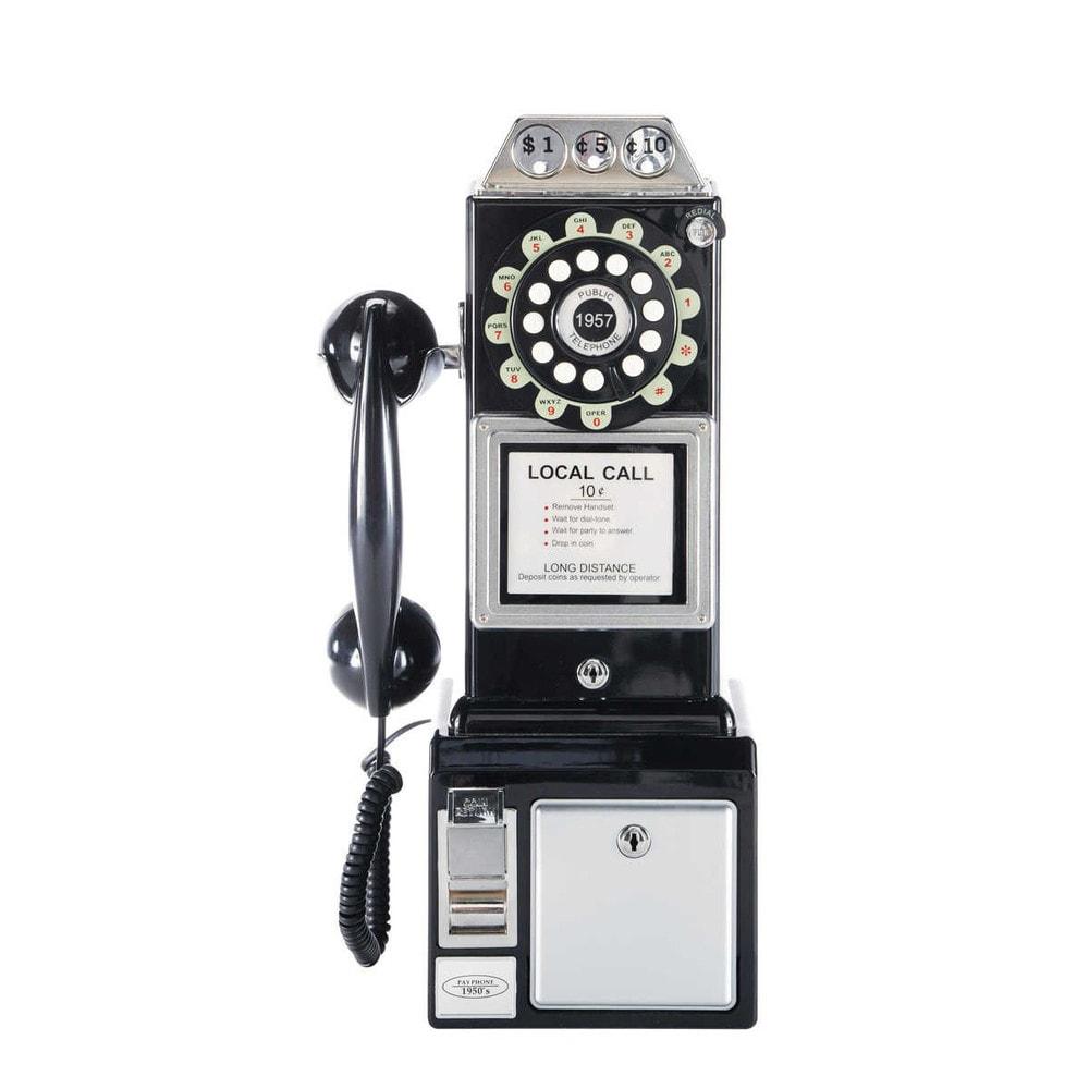 Cabine téléphonique rétro - Maison du Monde -