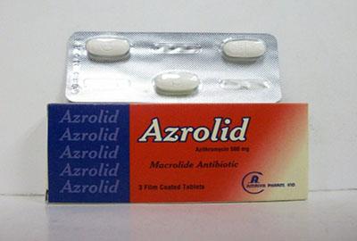 سعر ودواعى إستعمال أزروليد Azrolid أقراص مضاد حيوى واسع المجال