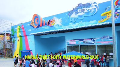 Harga Tiket i-City WaterWorld Terkini 2018