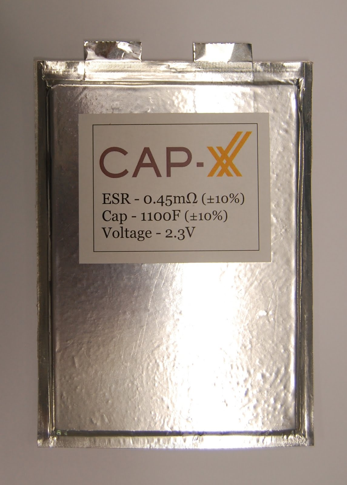 CAP-XX Introduces Prismatic Supercapacitors For Automotive