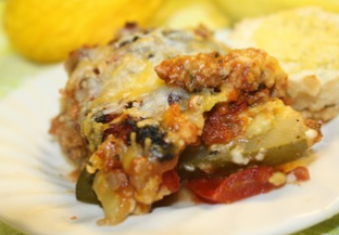 The Ranch Kitchen's Pork and Vegetable Lasagna