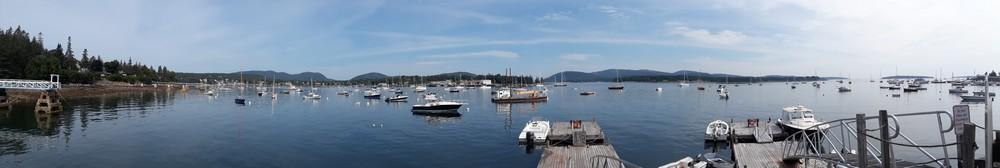 Charmant petit port dans le Maine