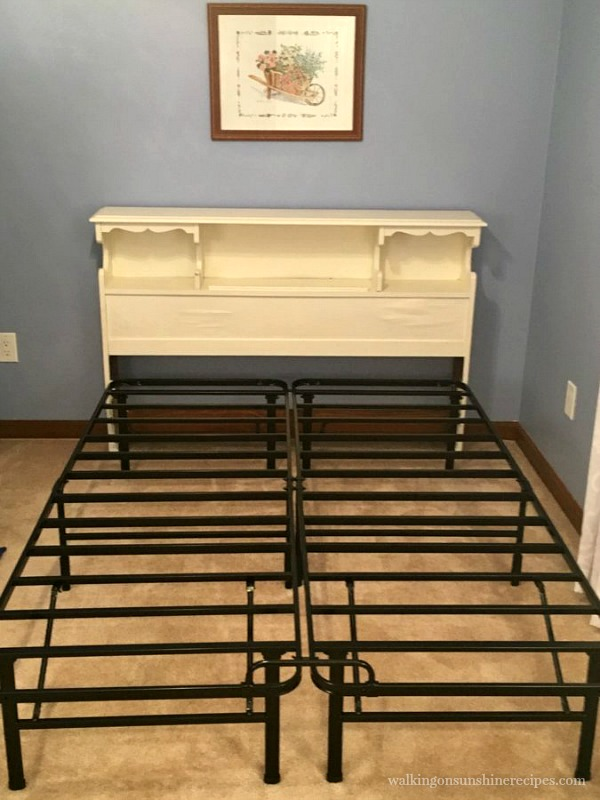 Metal Bed Frame for Nectar Mattress from Walking on Sunshine Recipes