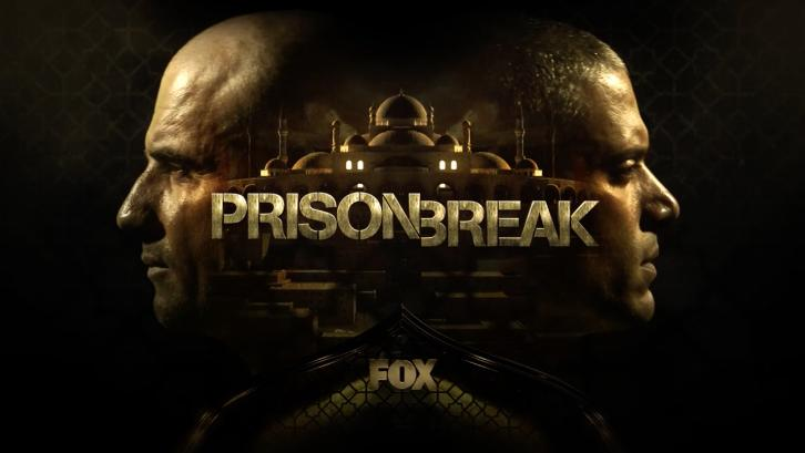 Póster promocional de la quinta temporada de Prison Break