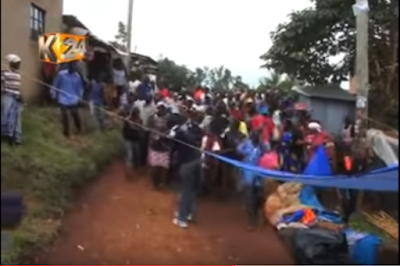 WATCH VIDEO: Married Woman & Her Lover Get Stuck In Bed During s*x In Kenya (Pics) 2gpT7K3