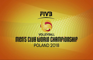 FIVB Men's Volleyball Club World Championship Biss Key Asiasat 5 29 November 2018