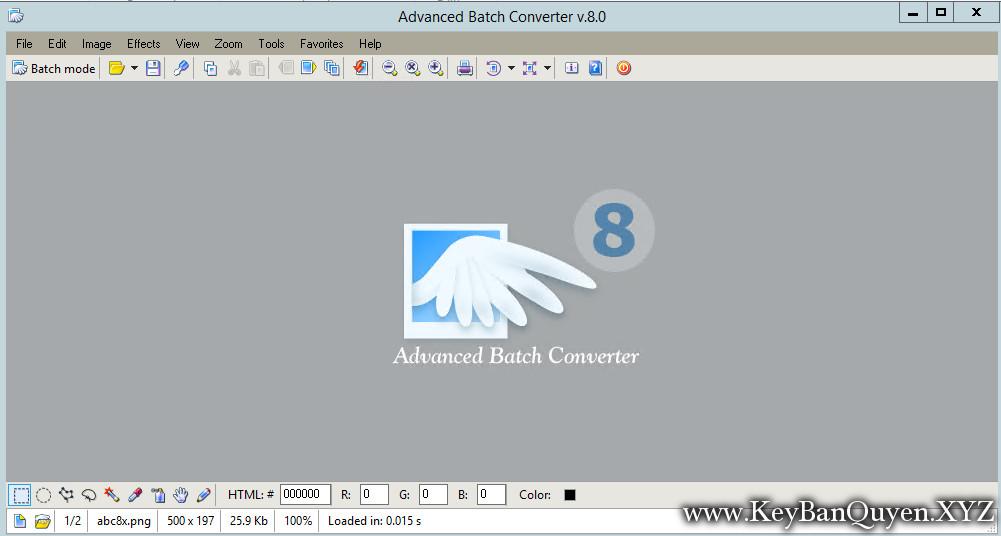 Advanced Batch Converter 8.0 Full Key Download, Siêu ứng dụng giúp bạn chuyển đổi định dạng hình ảnh.