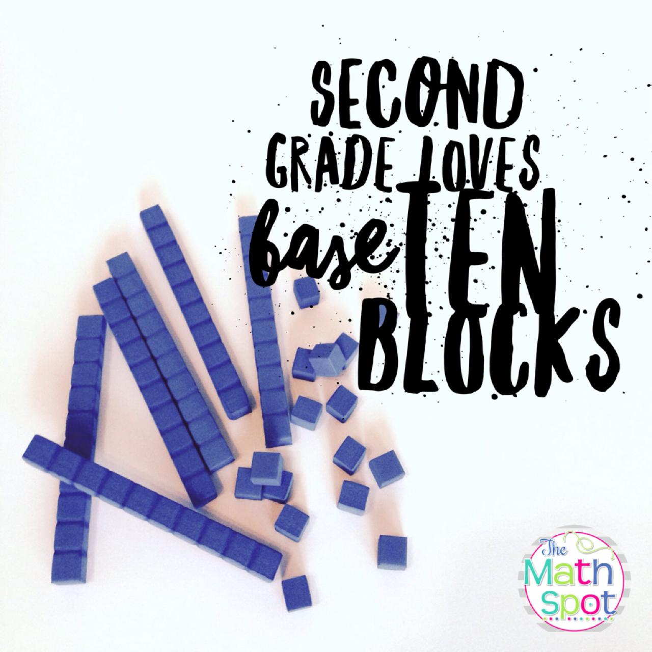 I Love Base Ten Blocks
