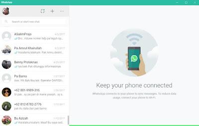 Aplikasi WhatsApp Untuk PC Siap Digunakan