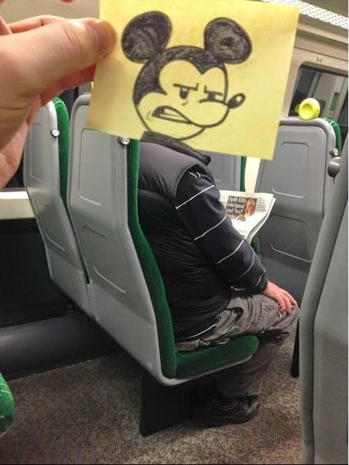 מיקי מאוס ברכבת