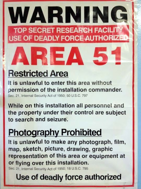 Area 51 Armed Guards Arrest BBC Crew at Nevada Installation