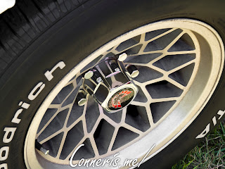 White Pontiac Trans Am Wheel