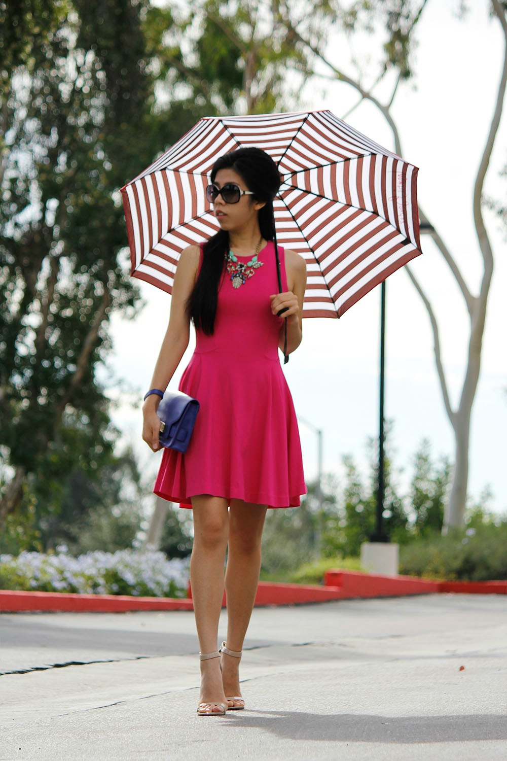 Hot Pink Dress_What to wear to a first date_Adrienne Nguyen_Invictus